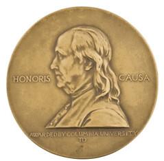 Pulitzer medal obverse