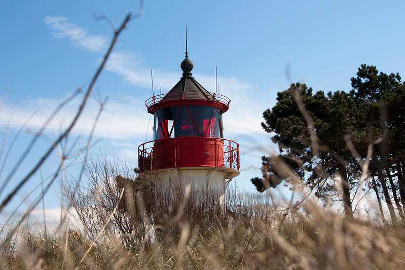 lighthouse on hiddensee