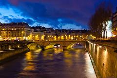 Pont St Michel @ golden hour