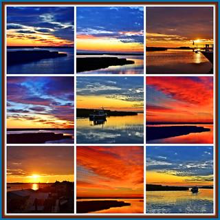 Sunrise times nine