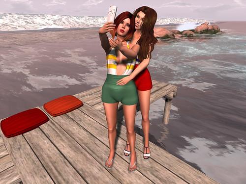 Beachy Selfie