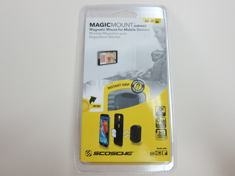 Scosche MagicMount Surface- Packaging Front