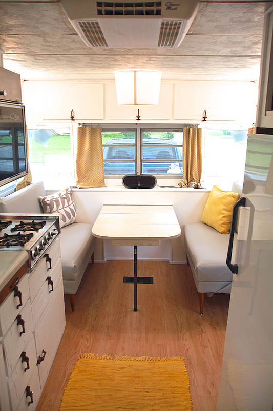 The Brave, vintage RV Renovation