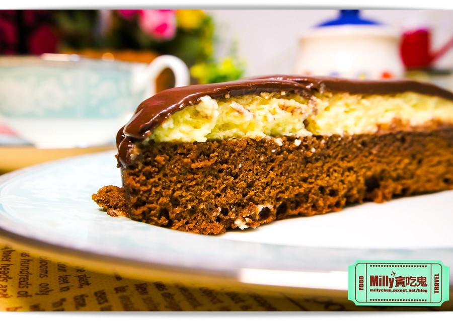 樂樂甜點超濃生巧克力布朗尼蛋糕0008