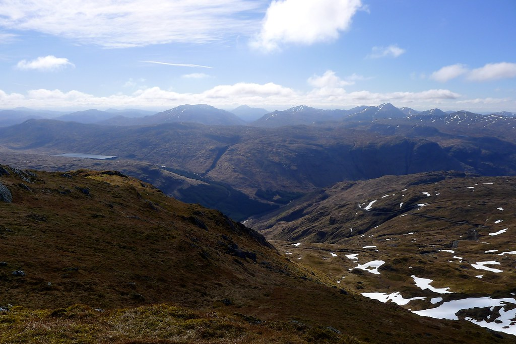 Arrochar across Glen Fyne