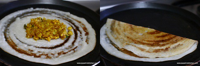 cauliflower dosai