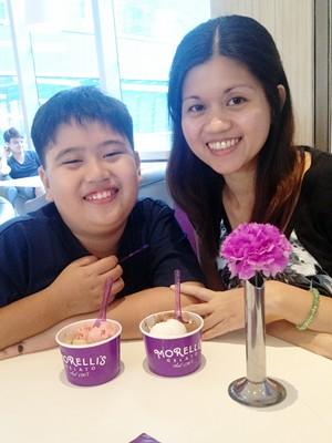 morellis-gelato_scoops, Morelli's Gelato Shangrila Plaza, gelato