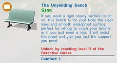 The Unyielding Bench