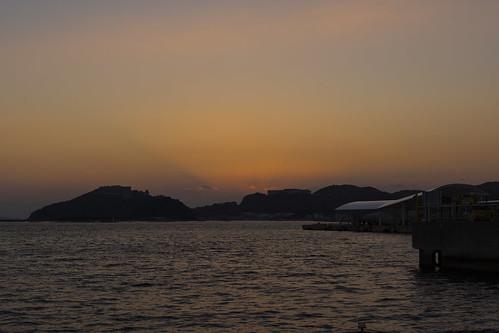 sunset sea japan 日本 海 awajiisland 夕焼け 兵庫県 淡路島 南あわじ市