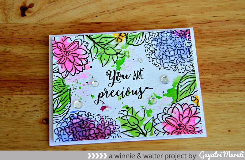 you are precious flat