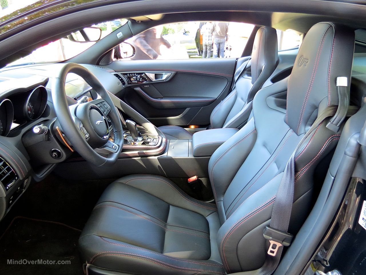 Jaguar F-Type R Coupe Sport Seats