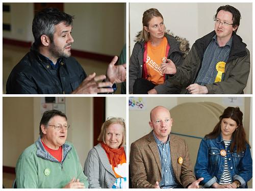 Sheffield Hallam - 4 candidates