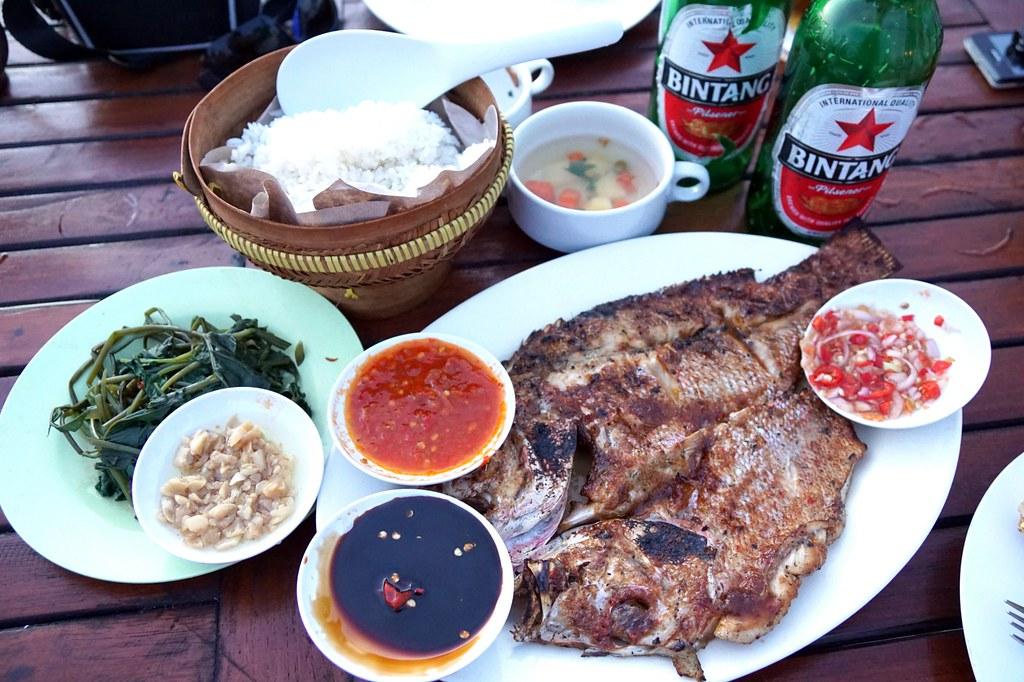 jimbaran beach - seafood - night time -012