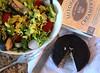 Frise Salad with Saffron Rice & Blood Orange Viniagrette