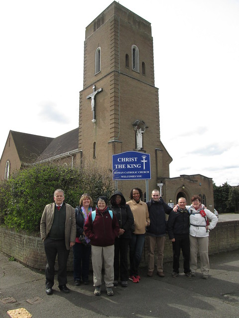 Walk to Our Lady and St. Anne's - April 2016