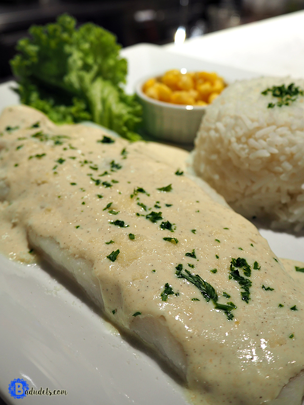 Sole Fillet with Lemon Pepper Sauce