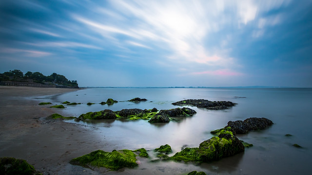 Sunset in Howth - Dublin, Ireland - Seascape photography