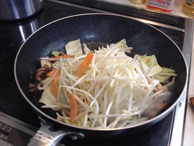 Chow mein saltiness