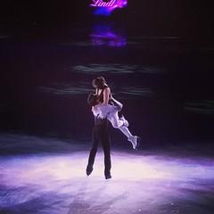 Never not perfection :heart:️⛸ #justbeinlovealready #starsonice #virtueandmoir - #starsonice2016 #starsoniceyeg #yeg #yegevents #figureskating
