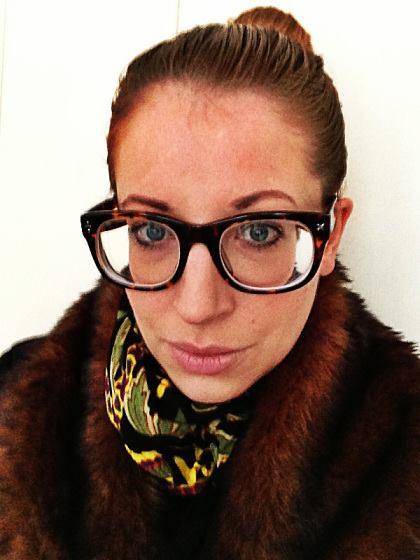 fcb83e29c6 ... Beautiful Girl In Strong Prescription Glasses