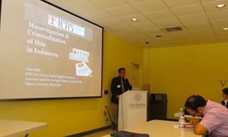 ICRS in the American Council for the Study of Islamic Societies (ACSIS), Villanova Universities, Pennsylvania