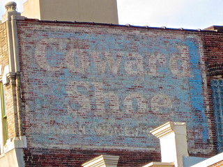 Coward Shoe Ghost Sign, Baltimore, MD