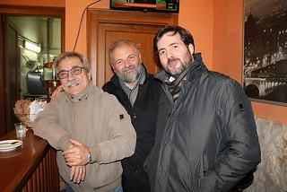 Da destra, Oronzo Valentini e Franco Delliturri