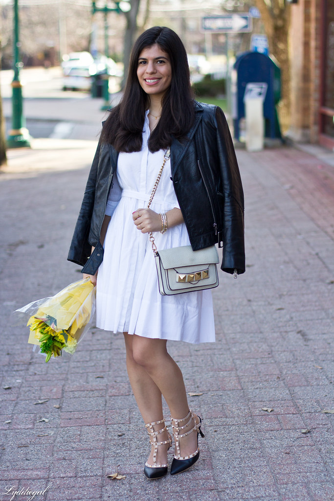 white dress, leather jacket, studded pumps.jpg