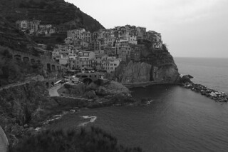 Manarola - Panoramic view high