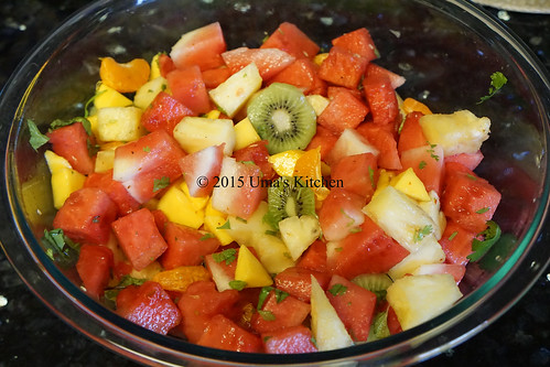 Summer mixed fruit salad 2
