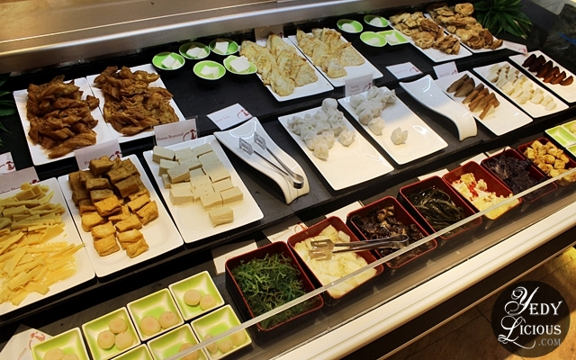 Vegetarian Section at Four Seasons Buffet HotPot City SM MOA