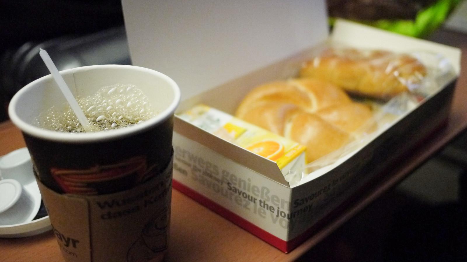 附贈的早餐