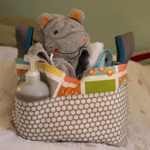 Noodlehead Divided Baskets for Baby Storage