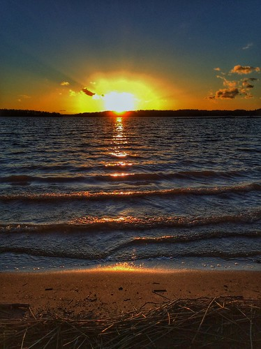 sunset auringonlasku ipad lohja aurlahti visitlohja