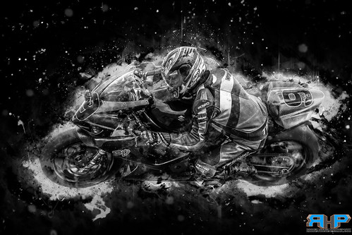 Motorcycle-Racer-Fury-BnW