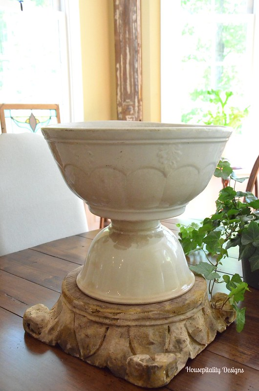 Ironstone Bowl planter-Housepitality Designs