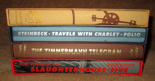 Folio Society Book Spines
