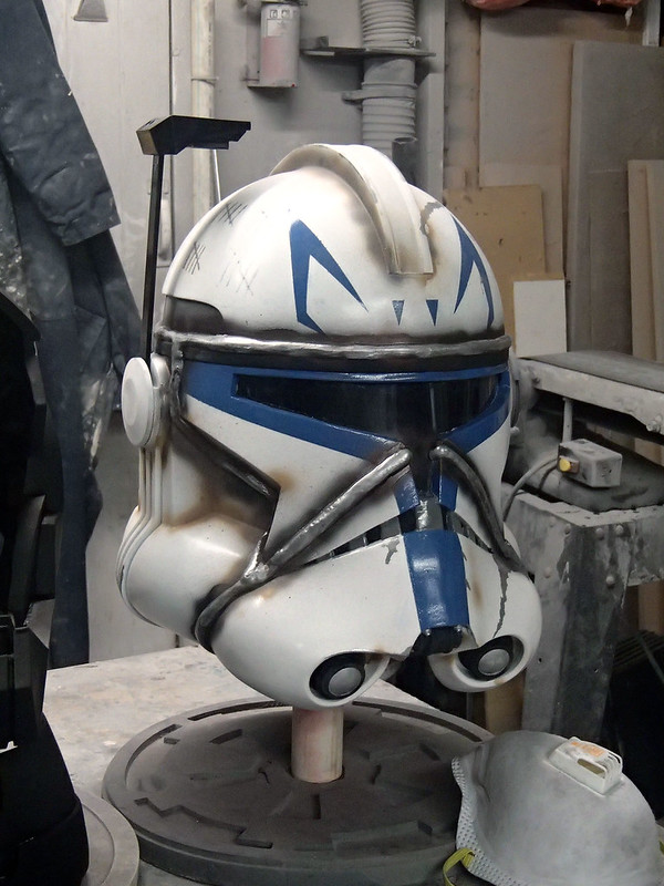 Captain Rex Helmet Nearly Finished