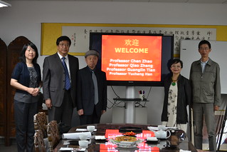April 14 '15 Confucius Institute at Miami University Visits CISDSU