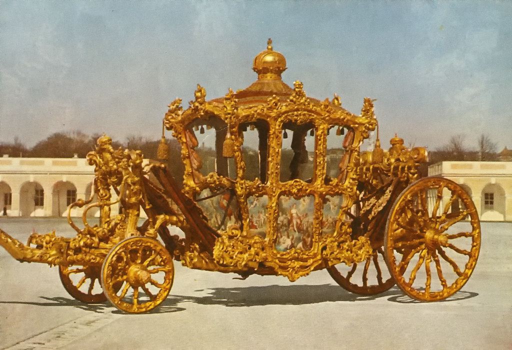 The Imperial Coach of the court of Vienna. Credit Vladimir Tkalčić