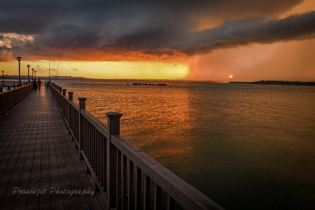 Chnagi Boardwalk - A beautiful evening!