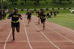 Service and sportsmanship: Camp Zama community runs, kicks and pulls toward the end of Army Birthday Week