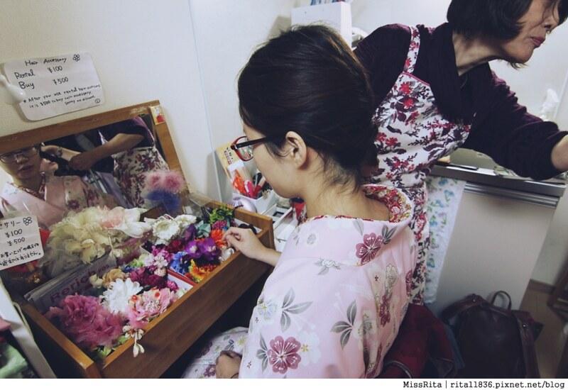 日本東京 東京和服體驗 淺草和服 淺草七變化 淺草七變化預約教學14