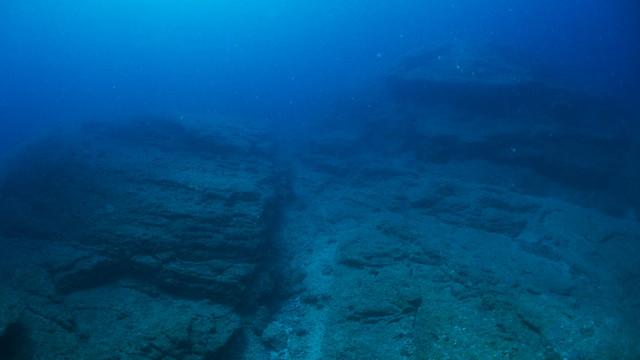 海底遺跡のような景色♪