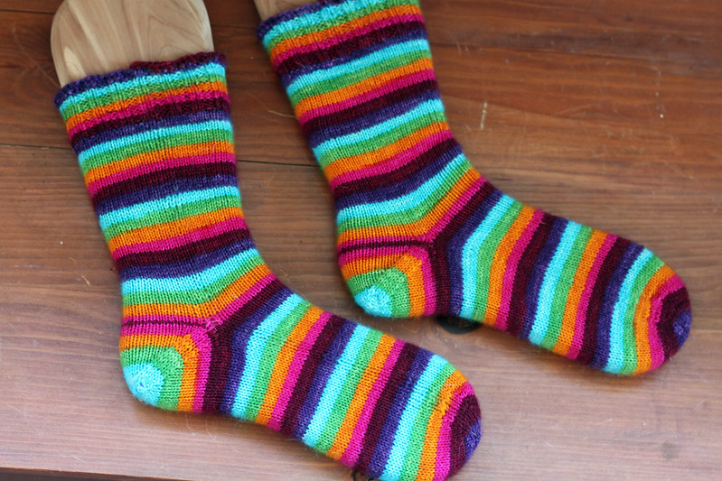 Poste Yarn Socks