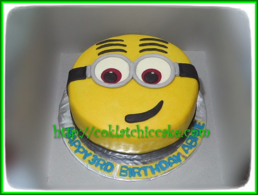 Cake Dave Minion ABHIE Jual Kue Ulang Tahun