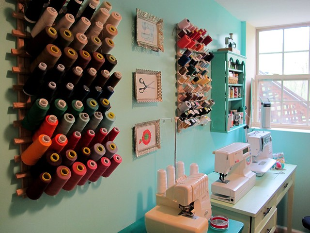 Sewing room sneaky peek