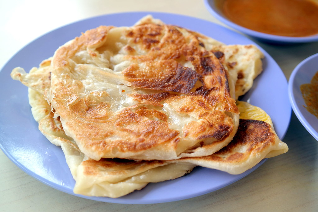 Breakfast East Singapore: Super Crispy Roti Prata