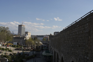 View from Nis fortress