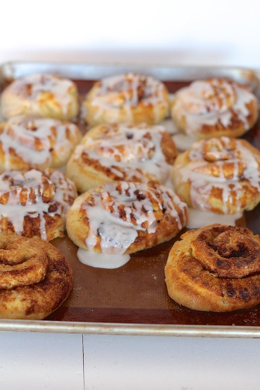 Quick Dough Cinnamon Rolls